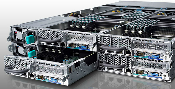 Сервер Dell PowerEdge C6100 (XS23-TY3) 4-node server