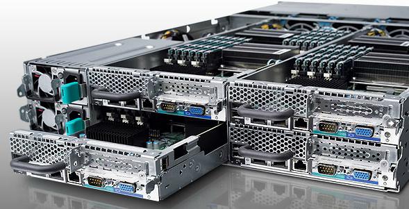 Сервер Dell PowerEdge C6100 (XS23-TY3) 4-node server